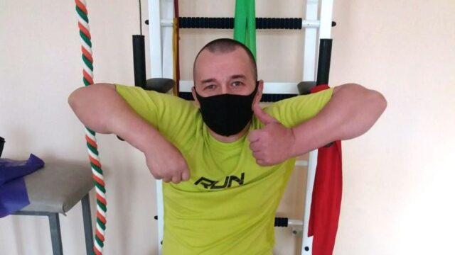 Бійцю з Вінниці, який бореться за збереження ніг, потрібно 145 тисяч гривень на дві операції