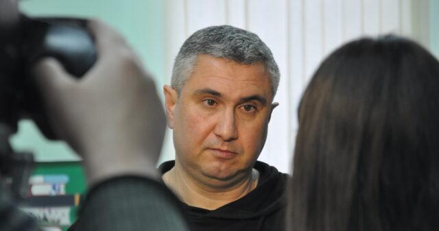 Вахтанг Кіпіані представив у Вінниці свою книгу «Справа Василя Стуса». ФОТО