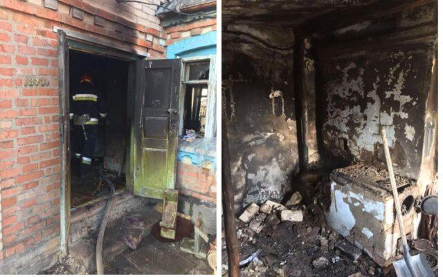 На Вінниччині через загибель дитини у пожежі розпочато слідство