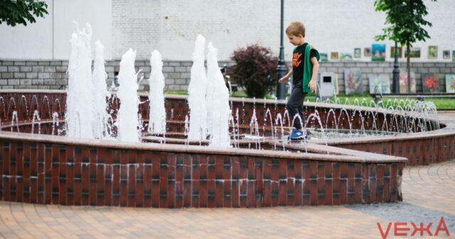 Вінницькі фонтани попередньо планують запустити наприкінці квітня