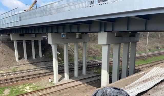 У Козятині до травня планують завершити капітальний ремонт мосту через залізницю. ФОТО