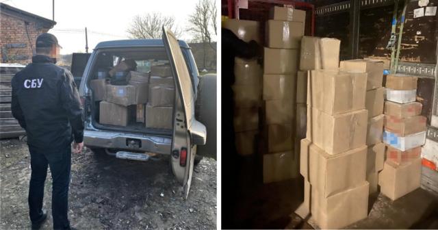 У вантажівці приватного поштового оператора на Вінниччині виявили фальсифікований алкоголь