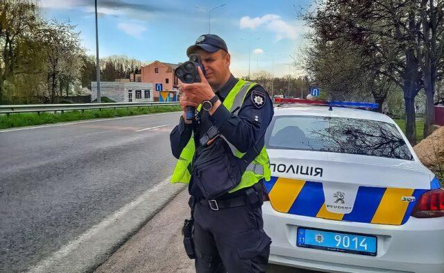 На Вінниччині з початку року патрульні зупинили 9405 водіїв за перевищення швидкості