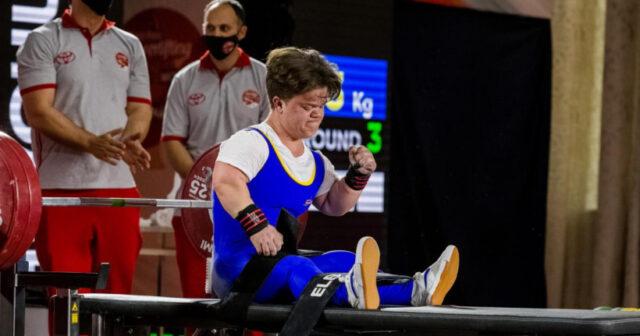 Спортсменка з Вінниці Мар'яна Шевчук встановила новий рекорд світу з пауерліфтингу на змаганнях у Грузії