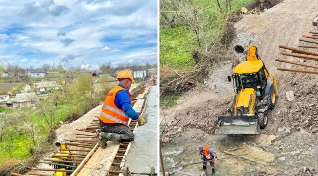На Вінниччині вперше за 84 роки капітально ремонтують міст. ФОТО