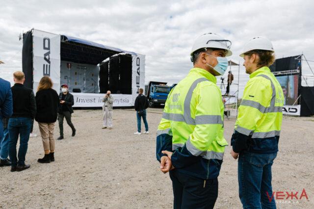 У Вінниці розпочинають будівництво заводу компанії HEAD з виробництва зимового спортивного спорядження. ФОТОРЕПОРТАЖ