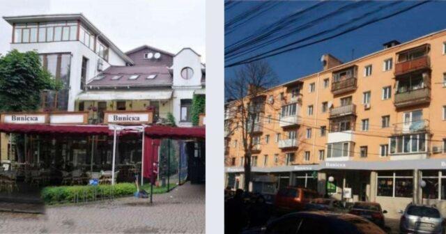 На фасадах будинків у центрі Вінниці впорядкують рекламні вивіски