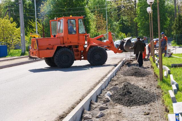 У Вінниці продовжили капітальний ремонт дороги по вулиці Гальчевського. ФОТО
