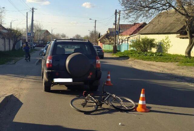 У Вінниці у ДТП постраждав 11-річний велосипедист