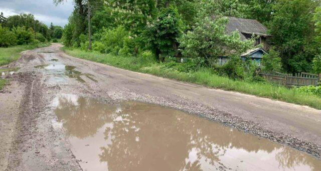 На Вінниччині через негоду пошкодило дороги та підмило мости