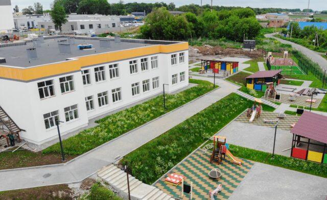 Восени на Вінницьких Хуторах запрацює новий дитячий садок. ФОТО