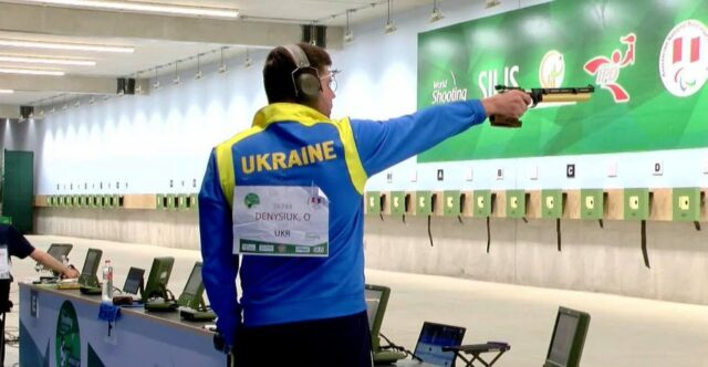 Вінничанин Олексій Денисюк здобув золоту медаль на Кубку світу з кульової стрільби
