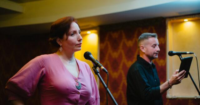 Про ландшафти та голос жінок у поезії: у Вінниці відбулися літературні читання Сергія Жадана та Катерини Калитко. ФОТО