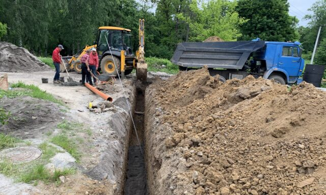 У Вінниці збудували мережу каналізації по вулиці Ґрохольських та 1-му провулку Бестужева