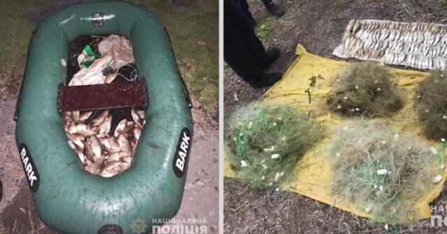 На Вінниччині за понад два місяці зафіксували майже 500 фактів незаконної риболовлі