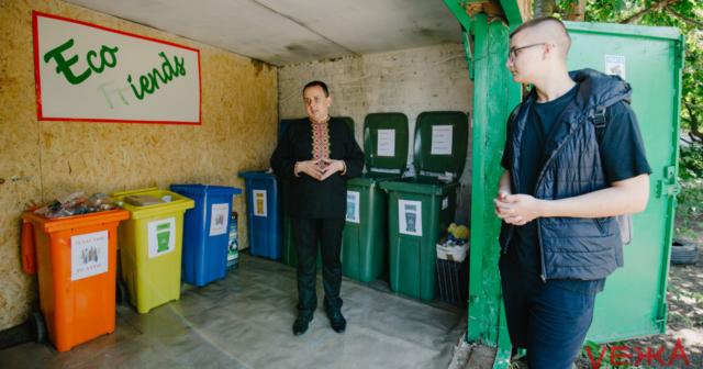 «Можна починати з себе»: як у вінницькій школі працює сортувальна станція «Eco Friends». ФОТО