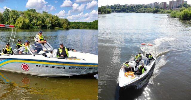У Вінниці розпочали патрулювання річки Південний Буг