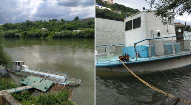 На Вінниччині власницю теплохода підозрюють у забрудненні Дністра нафтопродуктами