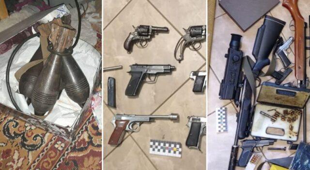 Вінницькі поліцейські викрили злочинне угруповання, яке нелегально продавало зброю. ФОТО, ВІДЕО