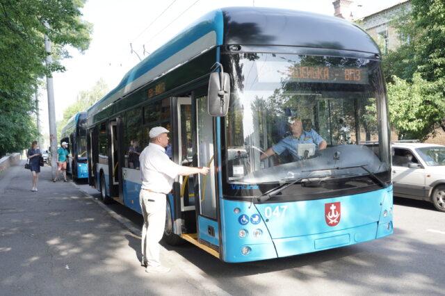 «Вишенька – ВПЗ»: у Вінниці запустили новий подовжений тролейбусний маршрут. ФОТО