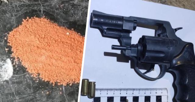 Зброя та амфетамін: поліція затримала вінничанина, який організував наркобізнес. ФОТО, ВІДЕО