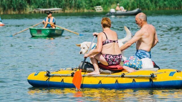 Всі на всьому: у Вінниці відбувся масовий заплив на Південному Бузі. ФОТОРЕПОРТАЖ