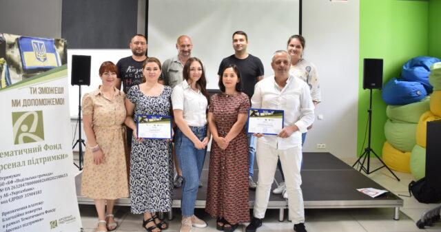 У Вінниці обрали переможців конкурсу бізнес-ідей для учасників бойових дій, ветеранів та військовослужбовців запасу