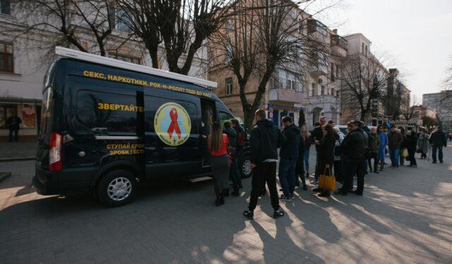 У середмісті Вінниці наступного тижня безкоштовно тестуватимуть на гепатити та ВІЛ