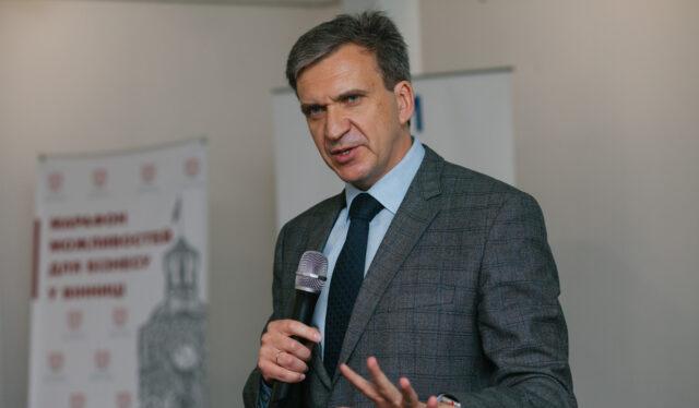 Про український прорив: вінничан запрошують на зустріч з екс-міністром Павлом Шереметою