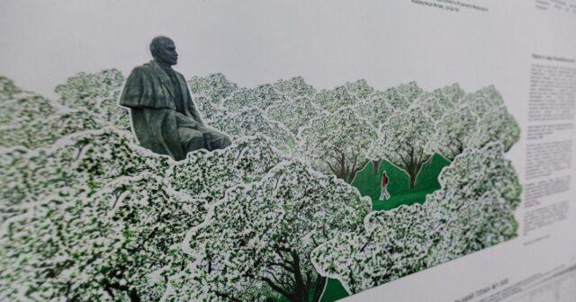 Багато зелені, лави та екран для показів: у Вінниці презентували проєкти-претенденти реконструкції простору біля музею Коцюбинського. ФОТО