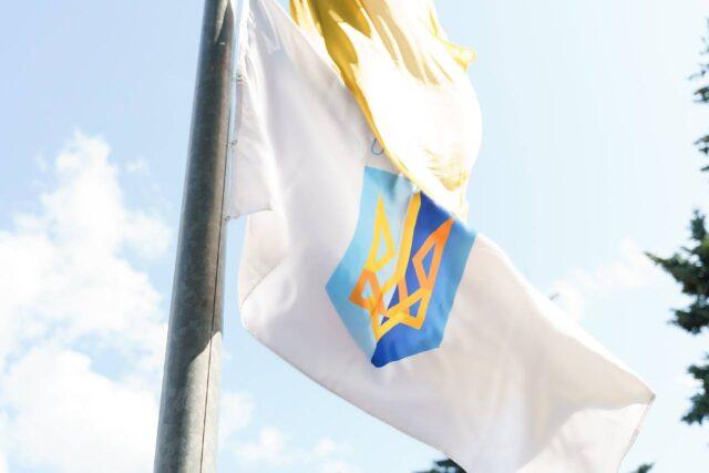 У Вінниці підняли прапор на підтримку українських олімпійців. ФОТО