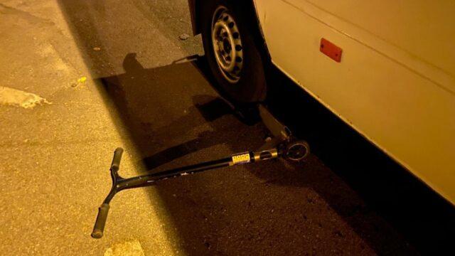 У Вінниці 10-річний хлопчик на самокаті потрапив під колеса мікроавтобуса. ФОТО