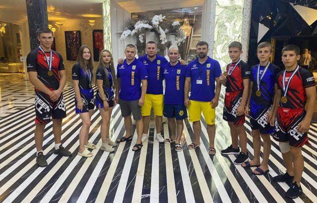 Спортсмени з Вінниччини вибороли 6 нагород на Чемпіонаті світу зі змішаних єдиноборств. ФОТО