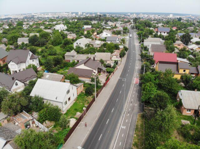У Вінниці капітально відремонтували дорогу по вулиці Гальчевського. ФОТО