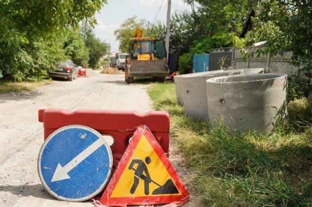 Міський голова розповів, як триває будівництво мережі каналізації на Старому місті. ФОТО