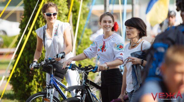 У Вінниці на День Незалежності влаштують велопарад у вишиванках