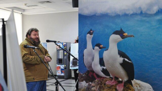 Криголам, кити та «озонова вахта»: у Вінниці відкрилася фотовиставка, присвячена українській антарктичній станції