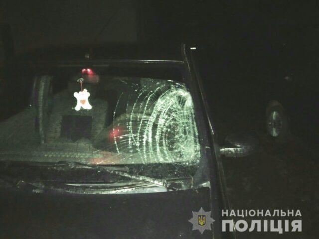 На Вінниччині водій збив пішохода, викликав швидку і втік з місця ДТП