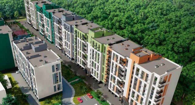 У Вінниці біля Лісопарку збудують новий житловий комплекс. ГРАФІКА