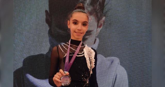 Вінничанка Лейла Юсіфзаде посіла друге місце II Всеукраїнського турніру з художньої гімнастики