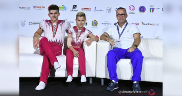 Студент ВНТУ став срібним призером ХХХ чемпіонату Європи з акробатичної гімнастики