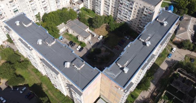 У Вінниці з початку року відремонтували дахи в 26 багатоповерхівках