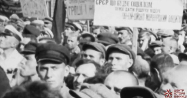 """Готель """"Савой"""" та мітинг на Соборній: історики опублікували відео з середмістя Вінниці 1929 року"""