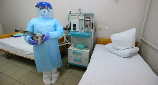 У Вінниці завантаженість ліжкового фонду для хворих на коронавірус становить 61%